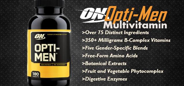 Optimen bietet die ganze Palette an Vitaminen und Mineralien. Die Optimum Nutrition Optimen Erfahrung ist gut.