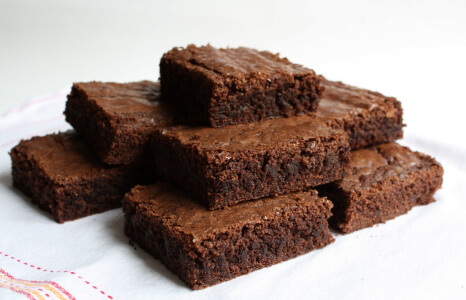 selfmade brownies sugarfree tasty healthy