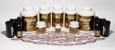 American Supps Masse aufbauen Makronährstoffe berechnen Shaker Creatinol-O-Phosphat Machine Gainer BCAA Whey Protein Isolate Aminosäuren bester booster supplements