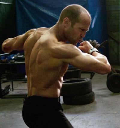 Jason Statham Training