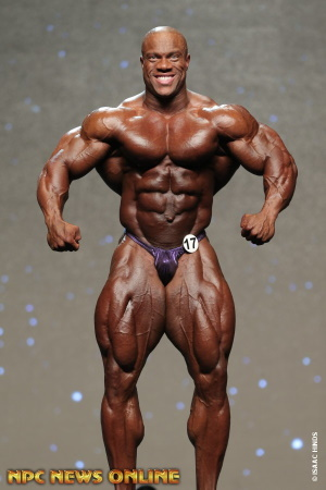 MR OLYMPIA 2015 Placements PHIL HEATH