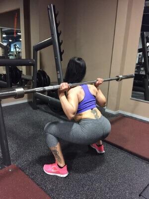 Training Beine Frauen