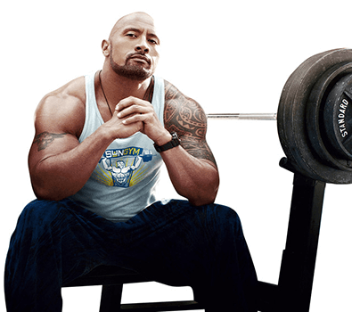 dwayne the rock johnson trainingsplan