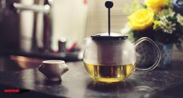 Harte Männer trinken auch Tee