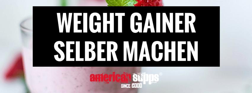 weight gainer selber machen hardgainer