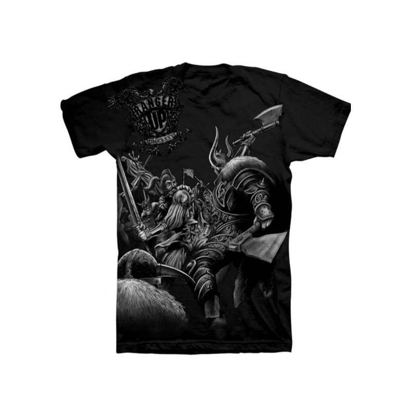 Ranger Up T-shirts are sold in the clothing size, style, and material that you like. Decide from assorted styles such as graphic tee. Ranger Up T-shirts come in black and other colors.