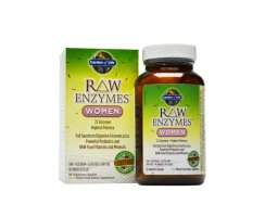 Garden of Life Raw Enzymes Woman 90 Kapseln