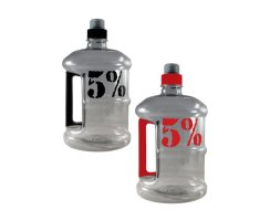 Rich Piana Jug - 1,9 l Drink Container by 5% Nutrition