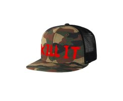 Rich Piana 5% Nutrition Kill It Hat Camo/Red #HT08