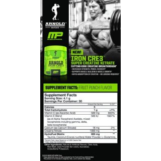 Arnold Schwarzenegger Series by MusclePharm Iron Cre3 -...