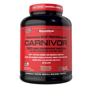 MuscleMeds Carnivor Beef Protein 2,038 kg Rindfleischprotein Isolat Chocolate