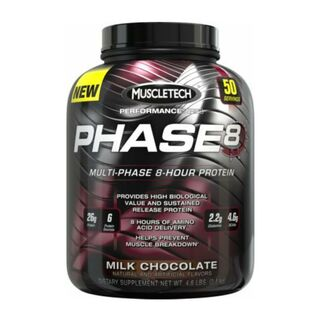 Muscletech Phase 8 - 2 kg Milk Chocolate