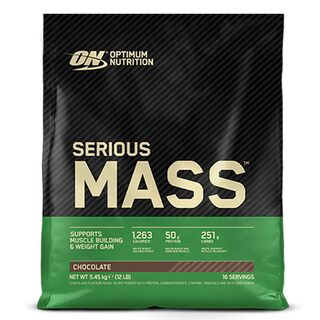 Optimum Nutrition Serious Mass 5,45 kg Chocolate