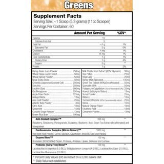 Controlled Labs Orange OxiMega Greens 318 g Spearmint