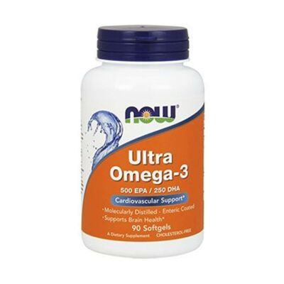 NOW Foods Ultra Omega-3 1000 mg - 180 Kapseln