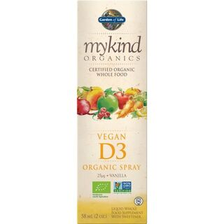 Garden of Life mykind Organics Vegan D3 Spray - 58 ml