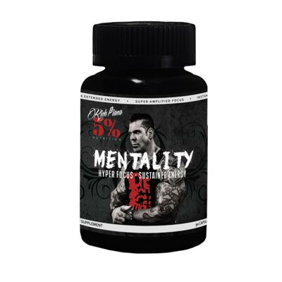 Rich Piana Mentality by 5% Nutrition 90 Capsules