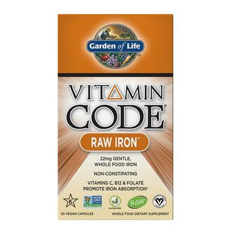 Garden of Life Vitamin Code Raw Iron - 30 Kapseln