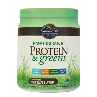 Garden of Life Raw Protein & Greens - 458 g Chocolate