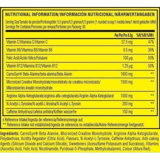 Cellucor C4 Pre Workout 390 g - 60 Servings Strawberry Margarita