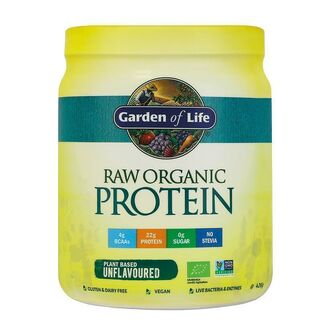 Garden of Life Raw Protein - 426 g New Unflavoured Raw