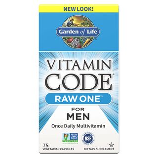 Garden of Life Vitamin Code Raw One for Men - 75 Capsules