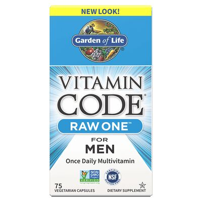 Garden of Life Vitamin Code Raw One for Men - 75 Kapseln
