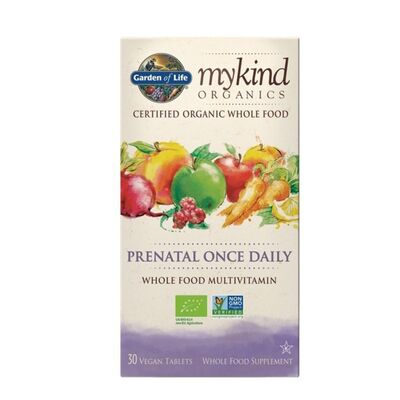 Garden of Life mykind Organics Prenatal Once Daily - 30...
