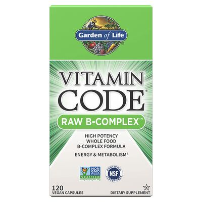 Garden of Life Vitamin Code Raw B-Complex - 60 Capsules