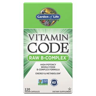 Garden of Life Vitamin Code Raw B-Complex - 120 Capsules
