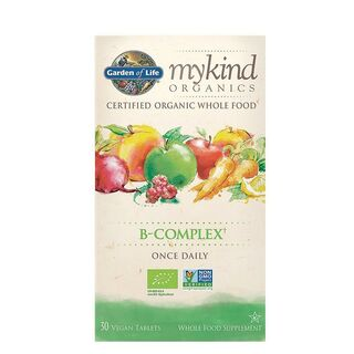 Garden of Life mykind Organics B-Complex Once Daily - 30 Tablets
