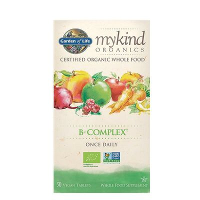 Garden of Life mykind Organics B-Complex Once Daily - 30...