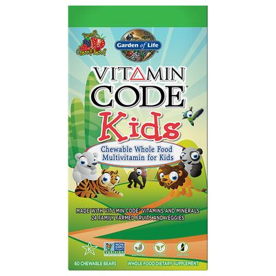 Garden of Life Vitamin Code Kids - 30 Chewable Bears