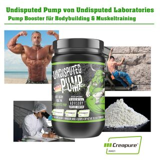Undisputed Laboratories Undisputed Pump Pre Workout 1000 g
