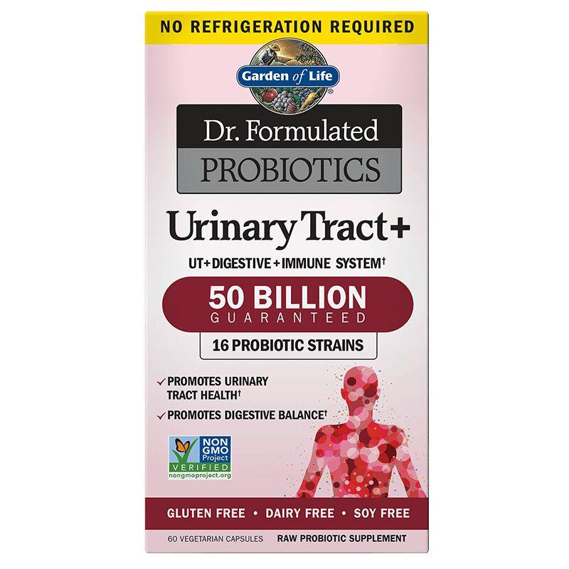 Garden of life dr formulated probiotics urinary tract for Katzennetz balkon mit garden of life probiotics