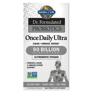 Garden of Life Dr. Formulated Probiotics Once Daily Ultra...