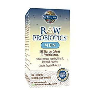 Garden of Life RAW Probiotics Men 85 Billion CFU - 90...