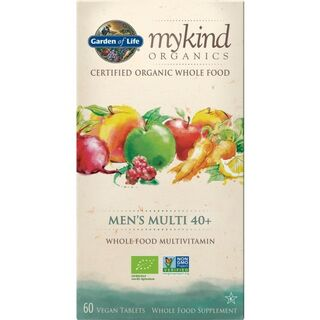 Garden of Life mykind Organics Mens Multi 40+ - 60 Tablets