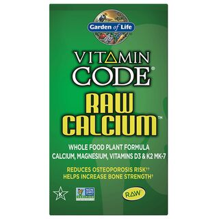 Garden of Life Vitamin Code Raw Calcium - 60 Capsules
