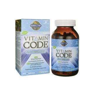 Garden of Life Vitamin Code 50 & Wiser Men - 120 Kapseln