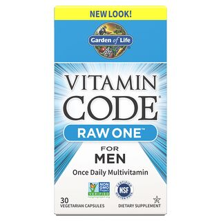 Garden of Life Vitamin Code Raw One for Men - 30 Kapseln