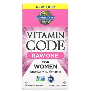 Garden of Life Vitamin Code Raw One for Women - 30 Kapseln