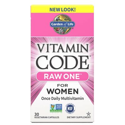 Garden of Life Vitamin Code Raw One for Women - 30 Capsules