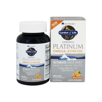 Garden of Life Minami Platinum Omega-3 Fish Oil - 60...