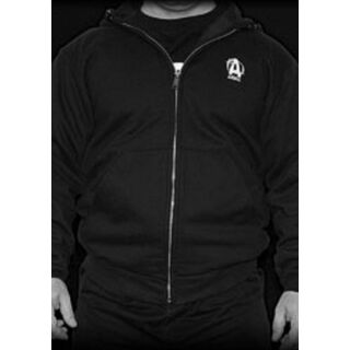 Universal Nutrition Animal Zip-Up Hooded Logo Sweatshirt Pullover S