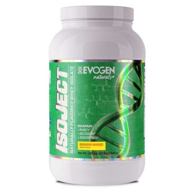 Evogen IsoJect Natural Whey Protein Isolate 840 g