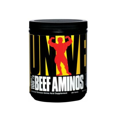 Universal Nutrition Beef Aminos 200 Tablets