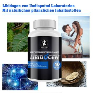 Undisputed Laboratories Libidogen Man Sex Booster 40 Kapseln