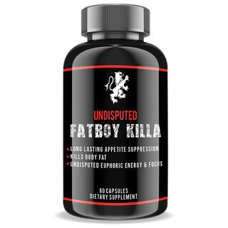 Undisputed Laboratories Fatboy Killa Fatburner 60 Kapseln