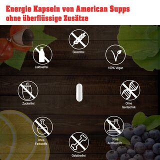 American Supps Energy Booster - 60 Capsule